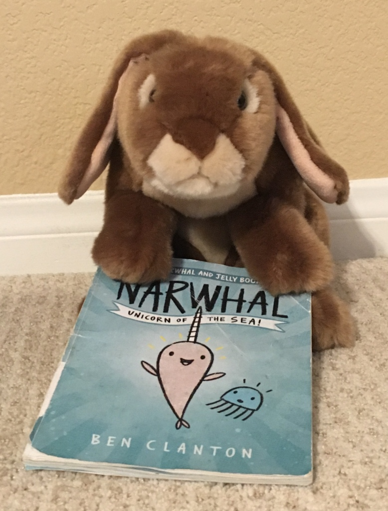 Caramel recommends Narwhal: Unicorn of the Sea, by Ben Clanton.