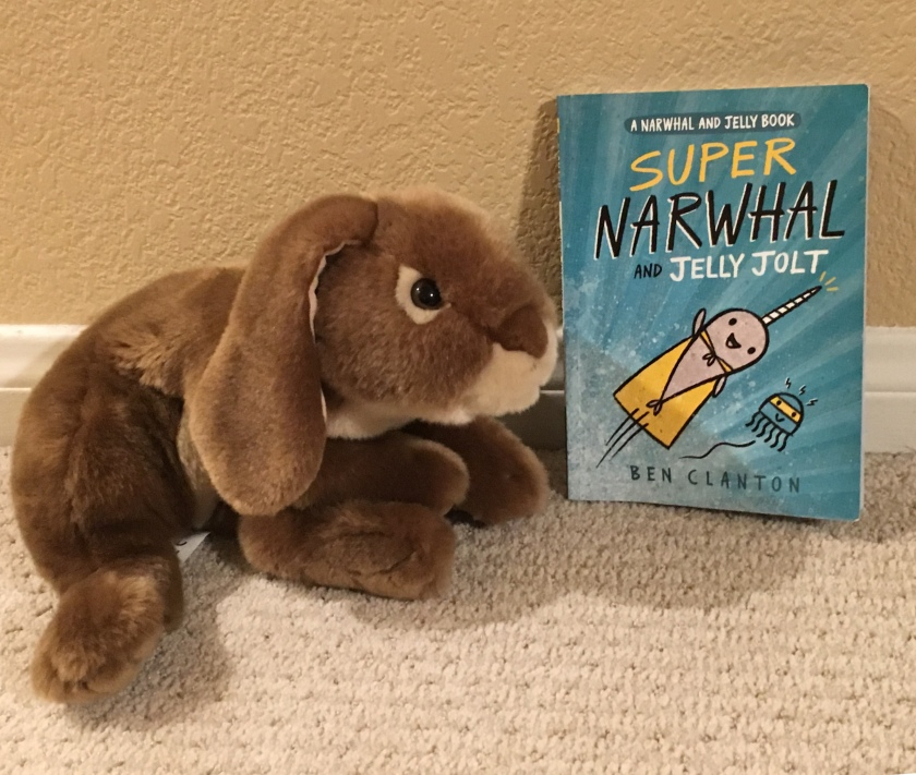 Caramel reviews Super Narwhal and Jelly Jolt by Ben Clanton.