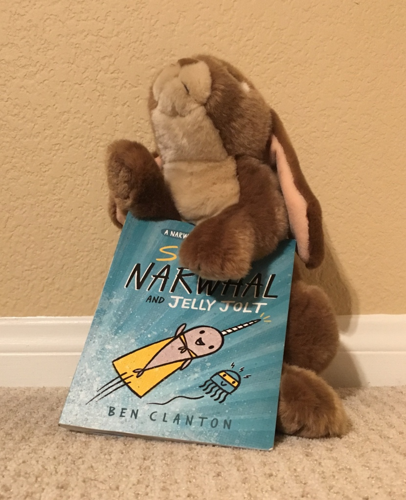 Caramel recommends Super Narwhal and Jelly Jolt by Ben Clanton highly! May the Force be with you!