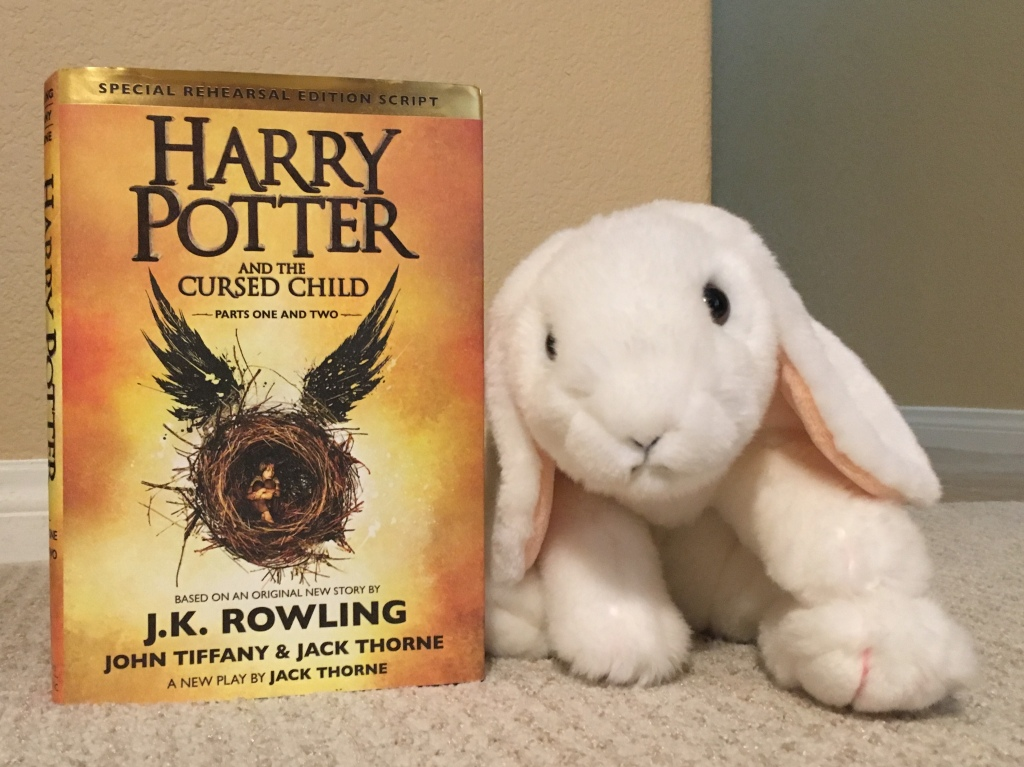 Marshmallow reviews Harry Potter and the Cursed Child, by J.K. Rowling.