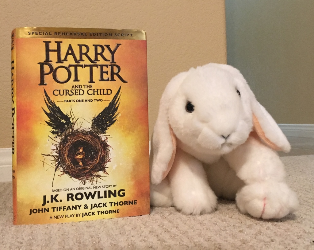 Marshmallow rates Harry Potter and The Cursed Child by J.K. Rowling 100%.