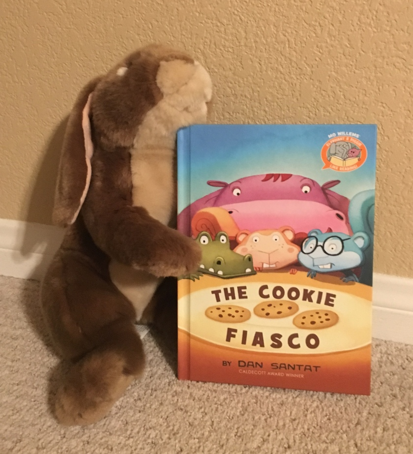 Caramel reviews The Cookies Fiasco by Dan Santat.