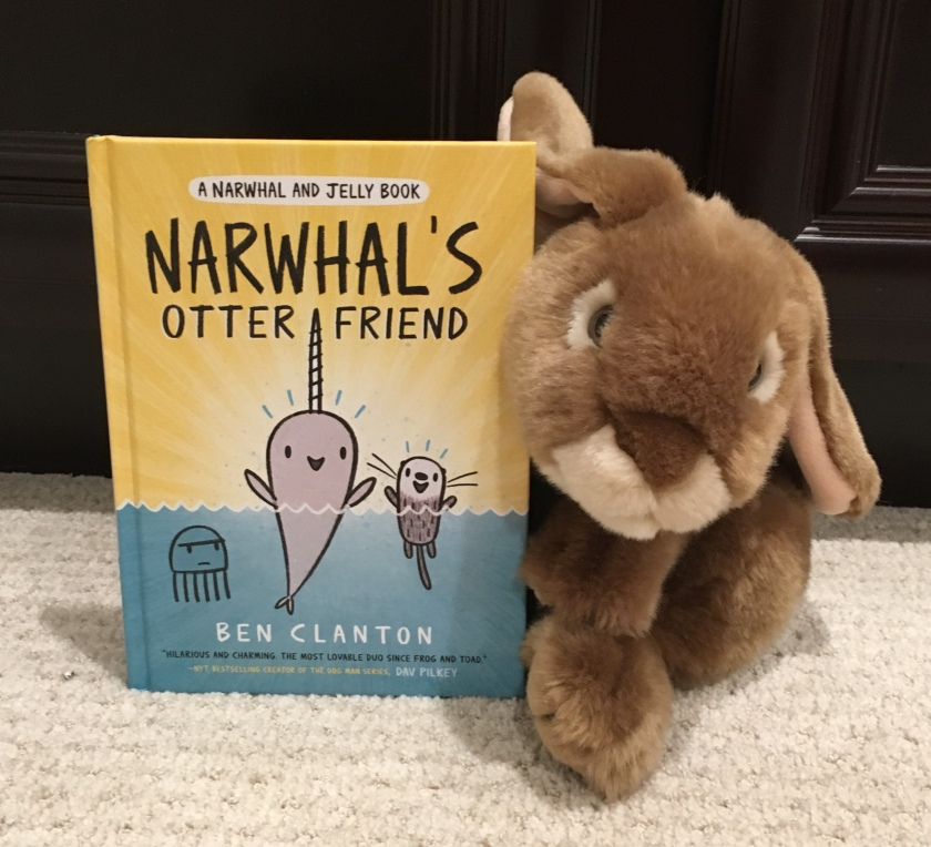 Caramel reviews Narwhal's Otter Friend by Ben Clanton.