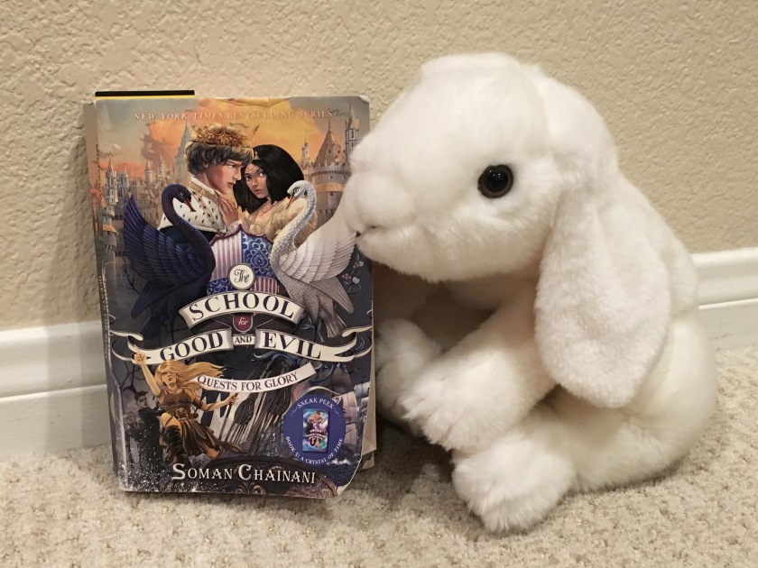 Marshmallow reviews School for Good and Evil: Quests for Glory by Soman Chainani.