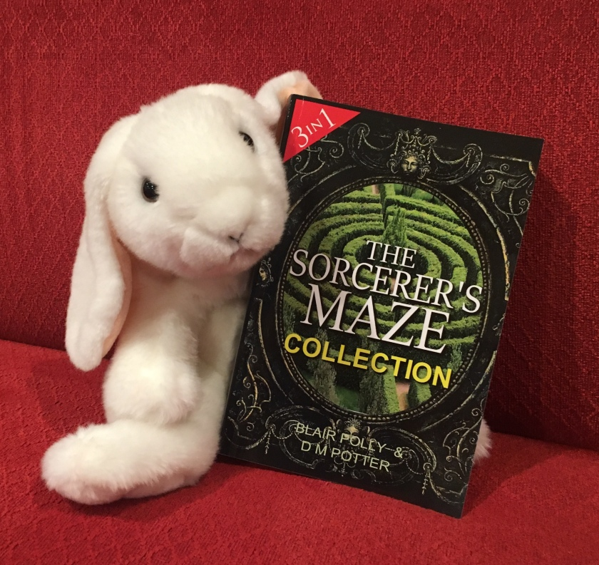 Marshmallow reviews The Sorcerer's Maze Collection by Blair Polly and DM Potter.