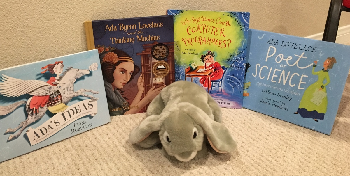 Sprinkles reviews children's books on Ada Lovelace