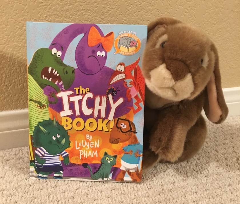 Caramel reviews The Itchy Book by LeUyen Pham.