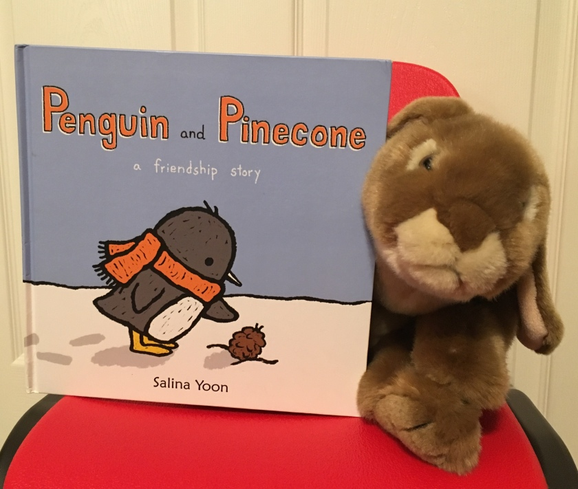 Caramel reviews Penguin and Pinecone: A Friendship Story by Salina Yoon.