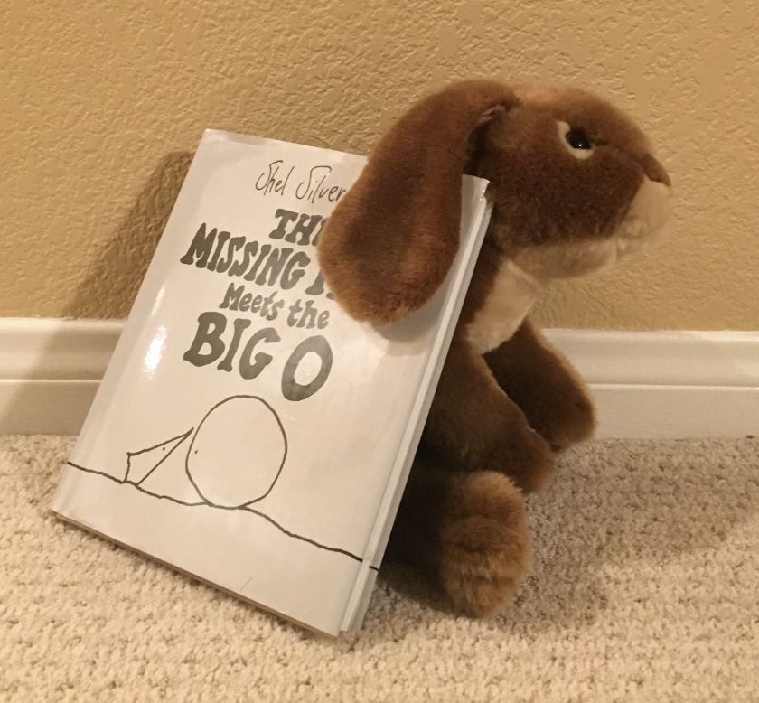 Caramel loved The Missing Piece Meets the Big O by Shel Silverstein!