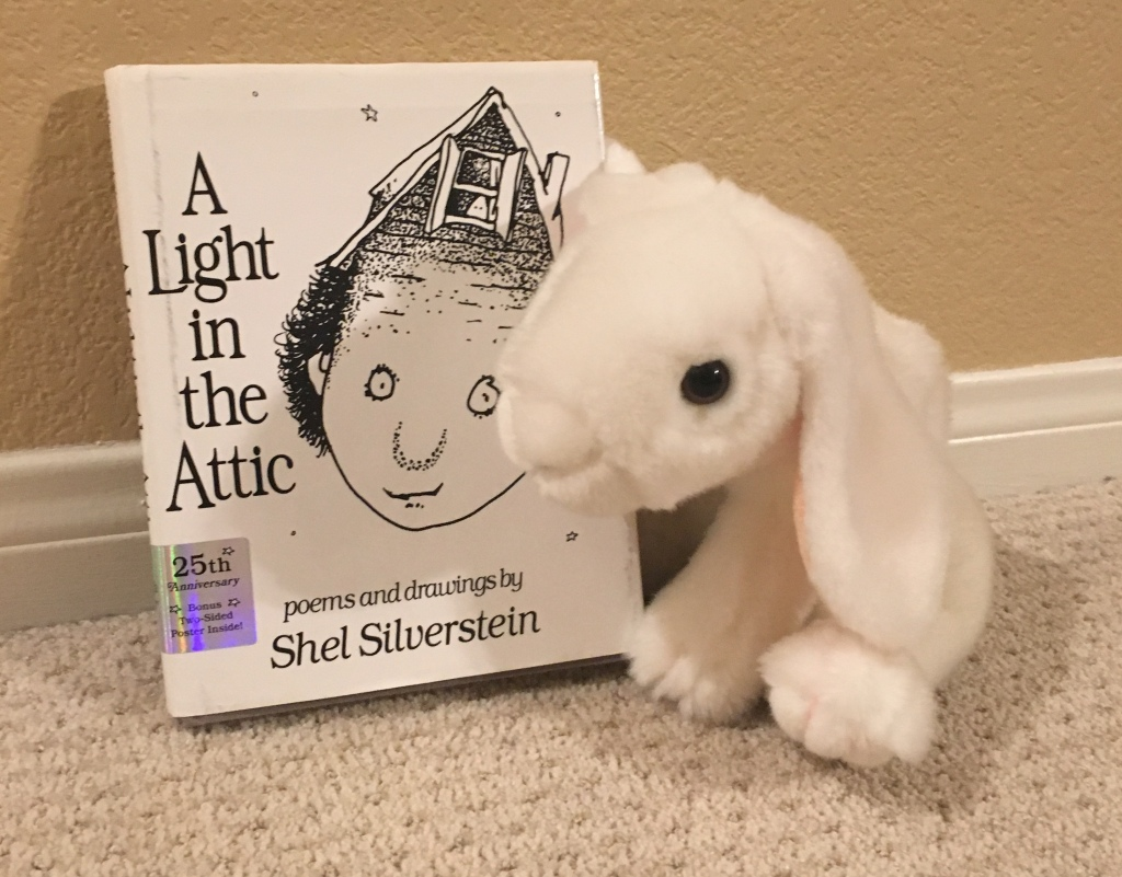 Marshmallow reviews A Light in the Attic by Shel Silverstein.