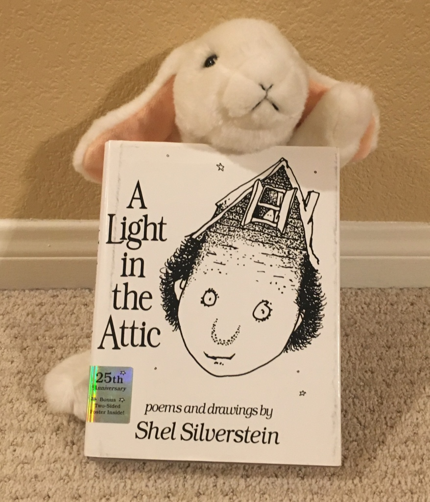 Marshmallow rates A Light in the Attic by Shel Silverstein 100%.