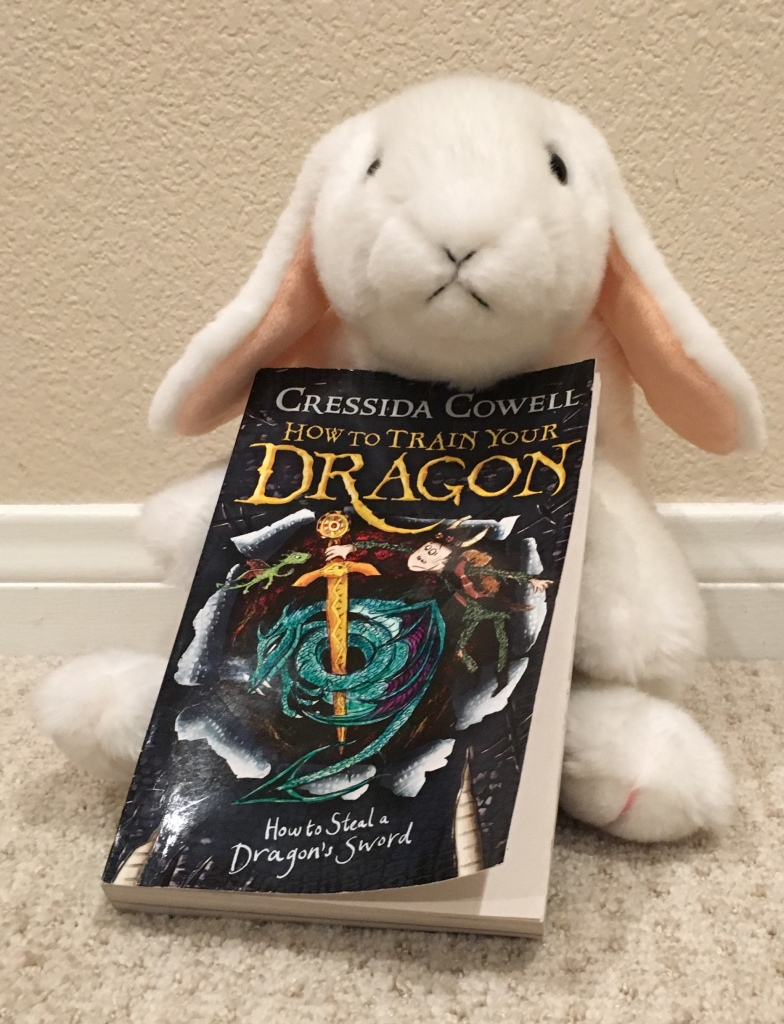 Marshmallow reviews How To Steal A Dragon's Sword (Book 9 of the How to Train Your Dragon series) by Cressida Cowell.