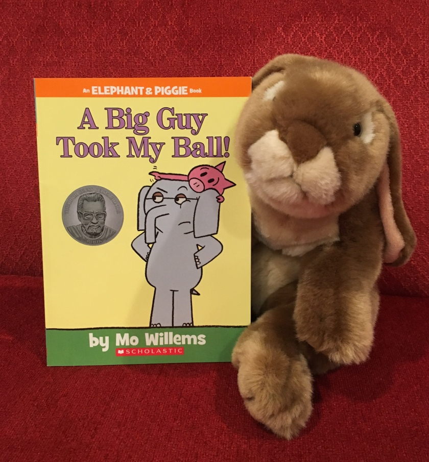 Caramel reviews A Big Guy Took My Ball! by Mo Willems.