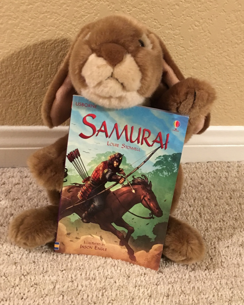 Caramel really enjoyed learning about samurai!