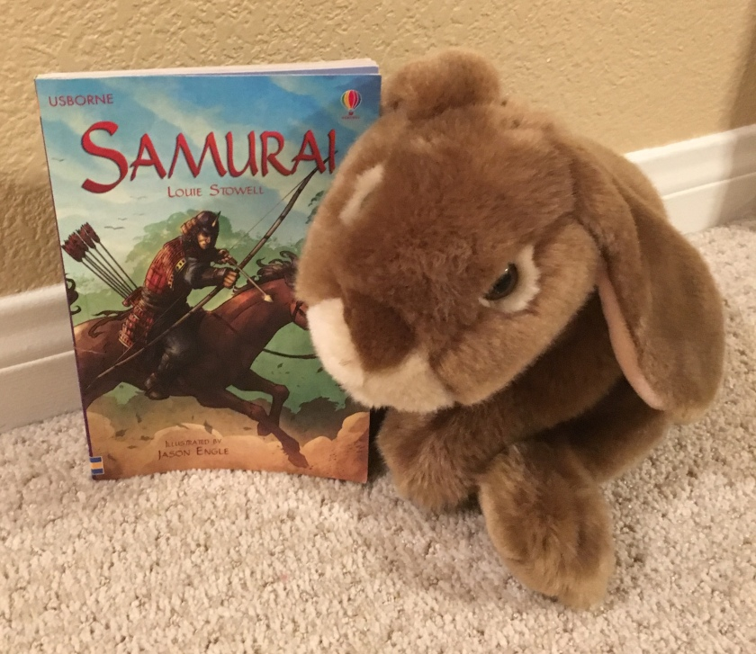 Caramel reviews Samurai by Louie Stowell.