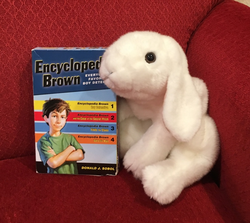 Marshmallow reviews the first four books of Donald Sobol's Encyclopedia Brown series.