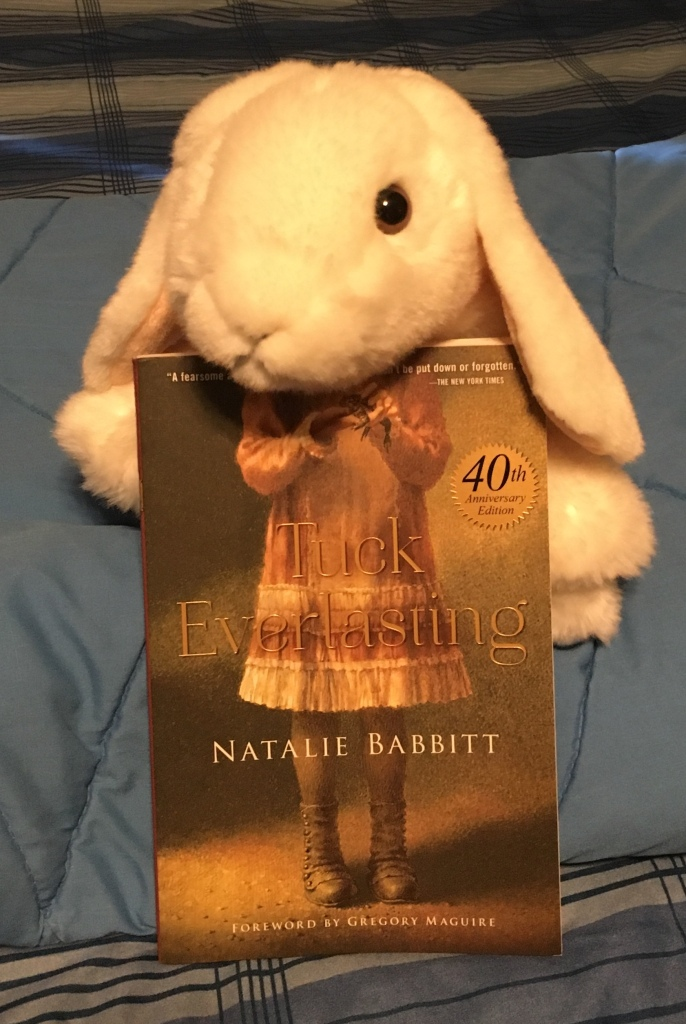 Marshmallow reviews Tuck Everlasting by Natalie Babbitt.