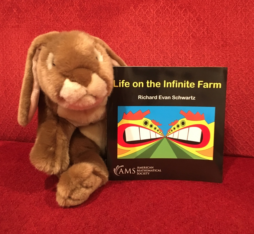 Caramel reviews Life on the Infinite Farm by Richard Evan Schwartz.