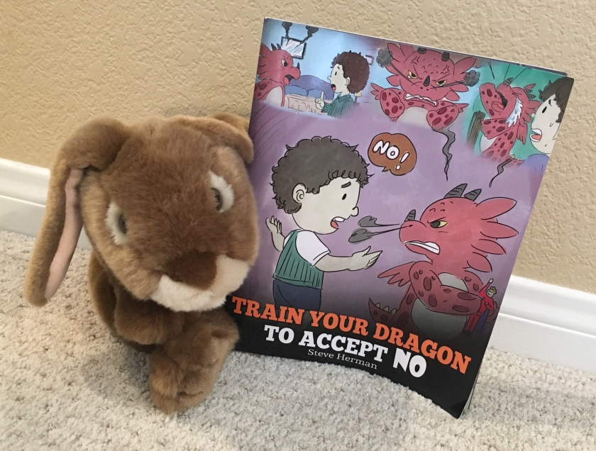 Caramel reviews Train Your Dragon To Accept NO by Steve Herman.