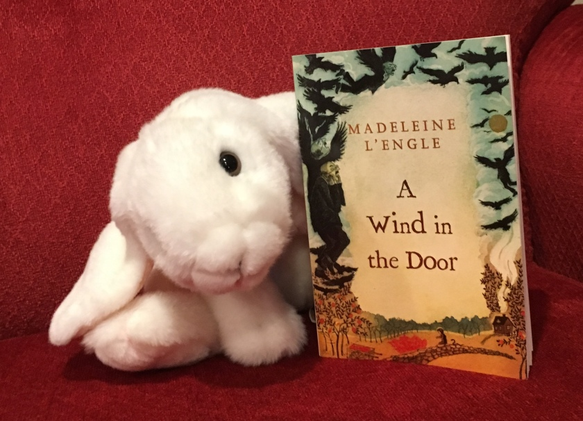 Marshmallow reviews A Wind in the Door by Madeleine L'Engle.
