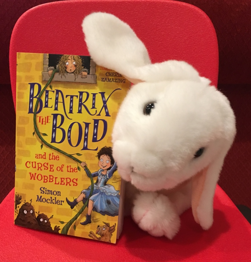 Marshmallow rates Beatrix The Bold and the Curse of the Wobblers by Simon Mockler 95%.