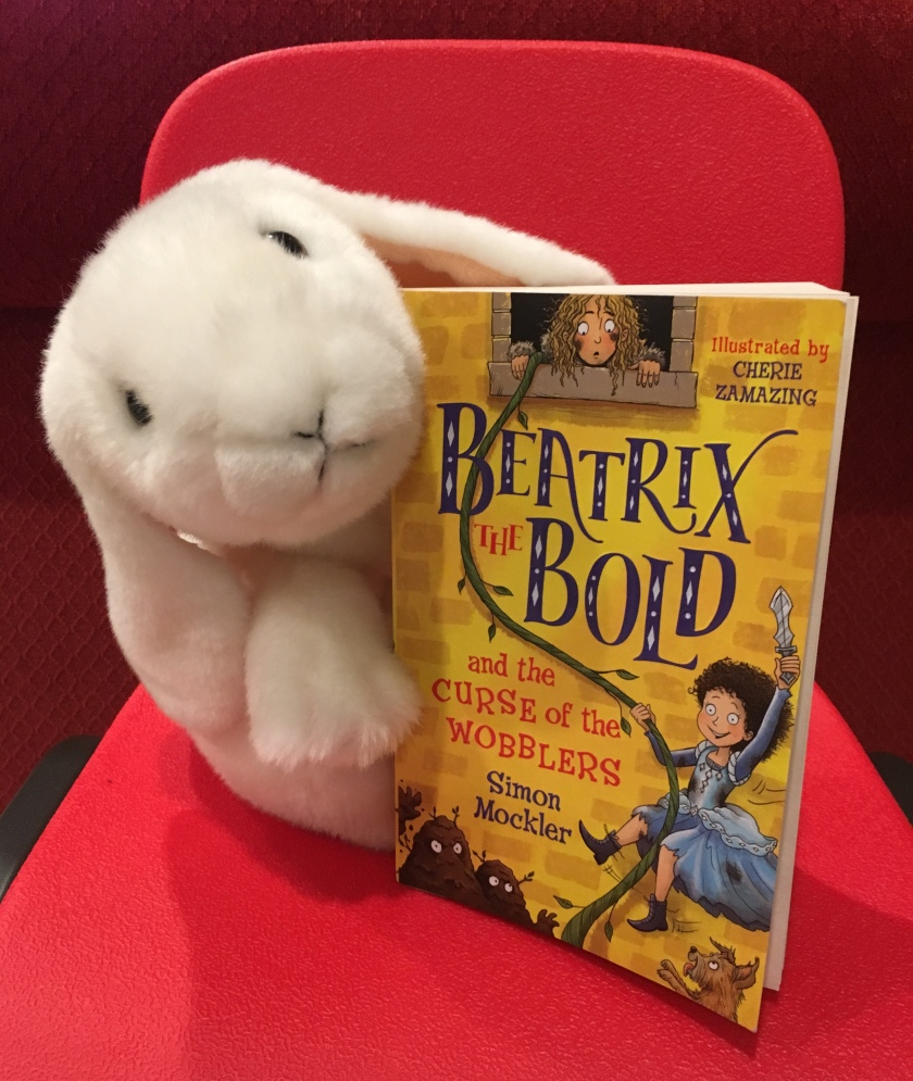 Marshmallow reviews Beatrix The Bold and the Curse of the Wobblers by Simon Mockler.
