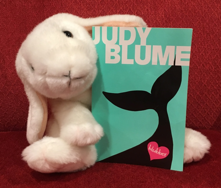 Marshmallow rates Blubber by Judy Blume 90%.