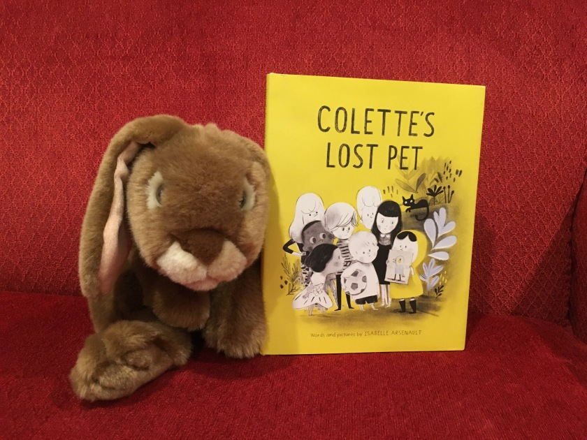 Caramel reviews Colette's Lost Pet by Isabelle Arsenault.