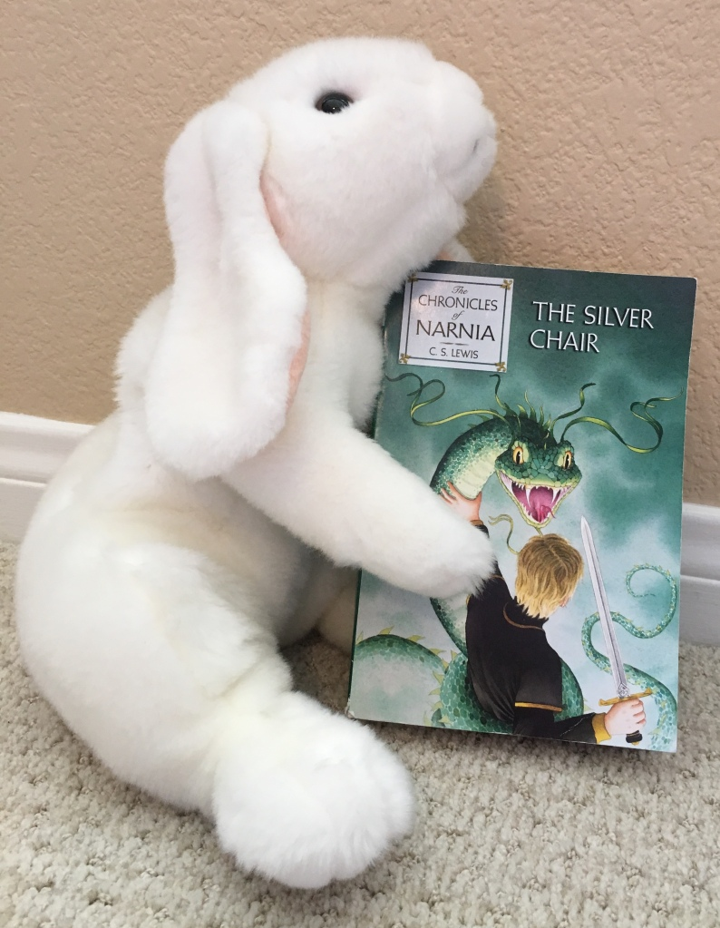 Marshmallow reviews The Silver Chair by C. S. Lewis.