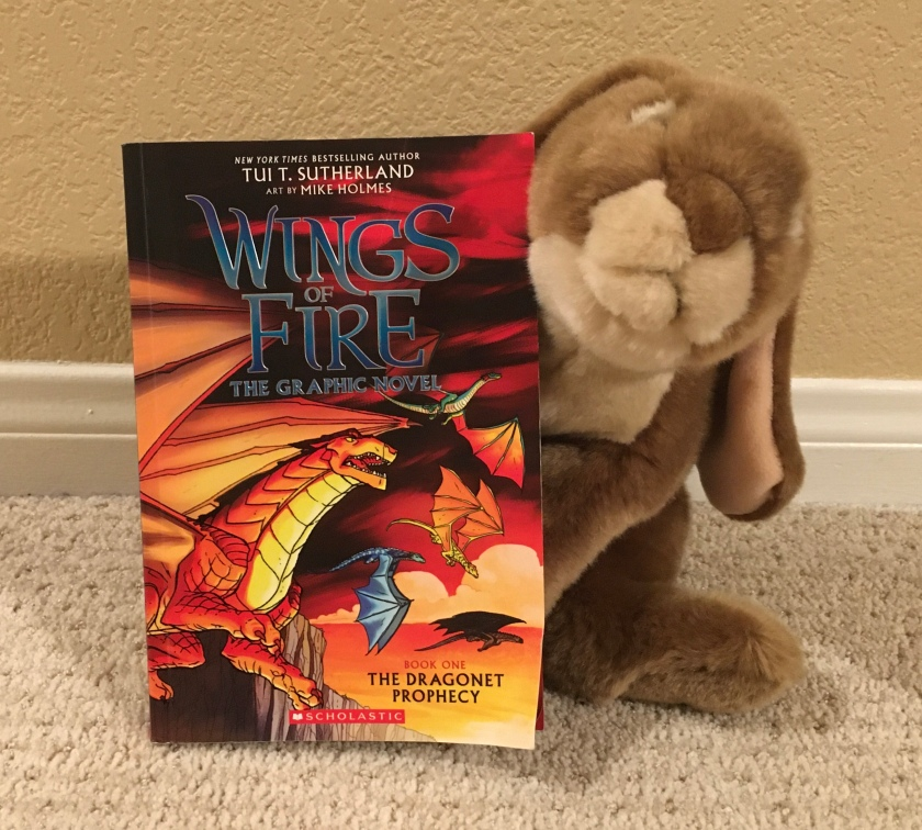 Caramel really enjoyed reading The Dragonet Prophesy (Book One of Wings of Fire) by Tui Sutherland and Mike Holmes.