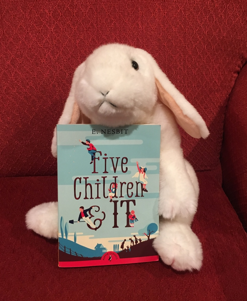 Marshmallow reviews Five Children and It by E. Nesbit.