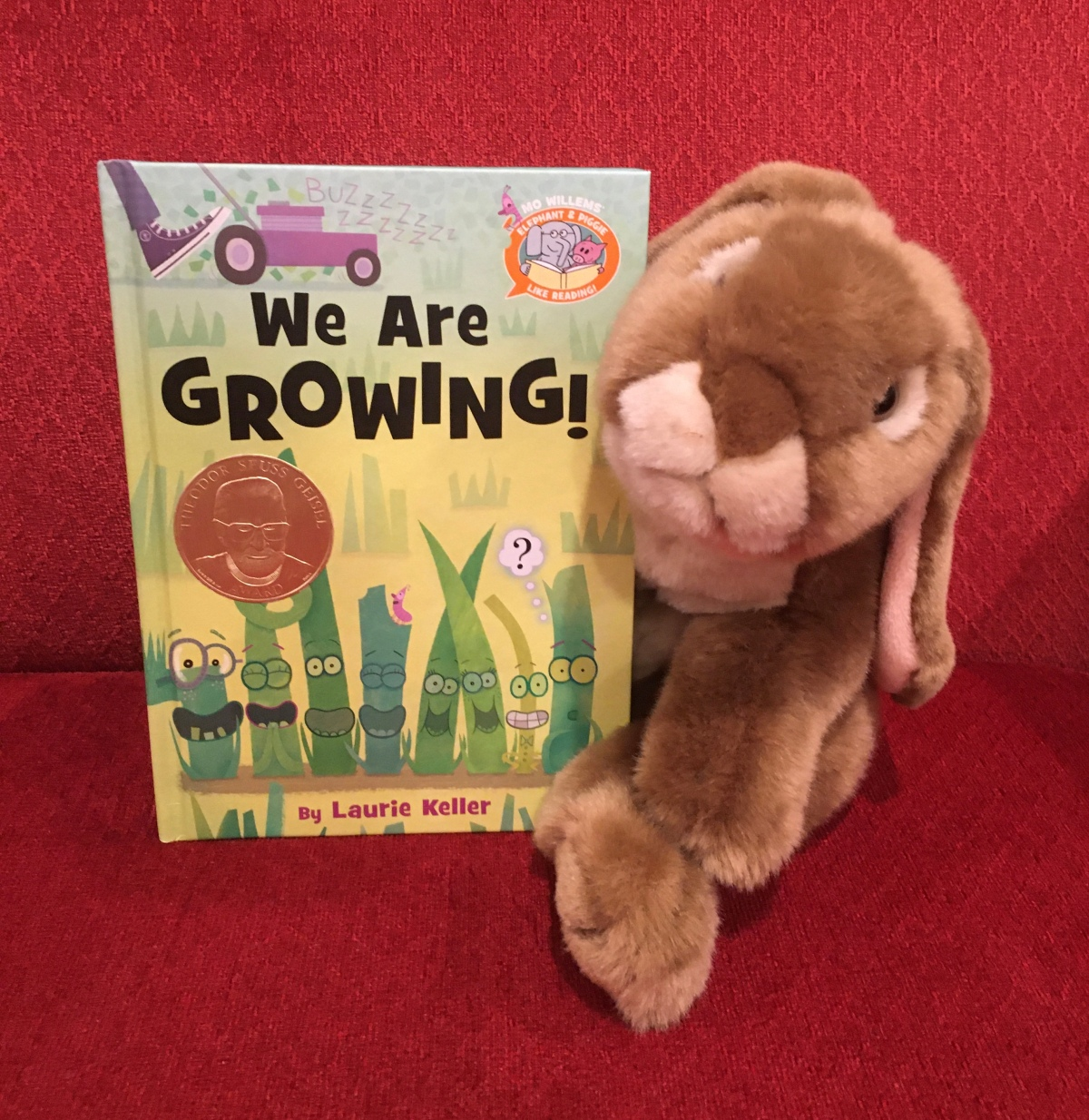 Caramel reviews We Are Growing! by Laurie Keller