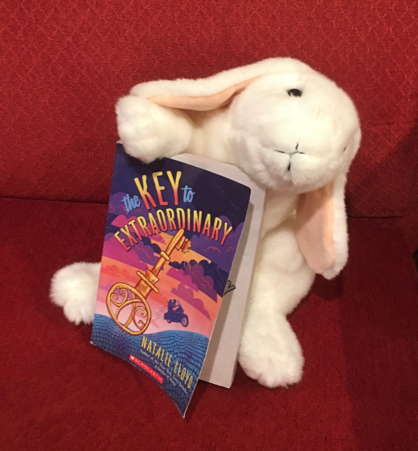 Marshmallow reviews The Key to Extraordinary by Natalie Lloyd.