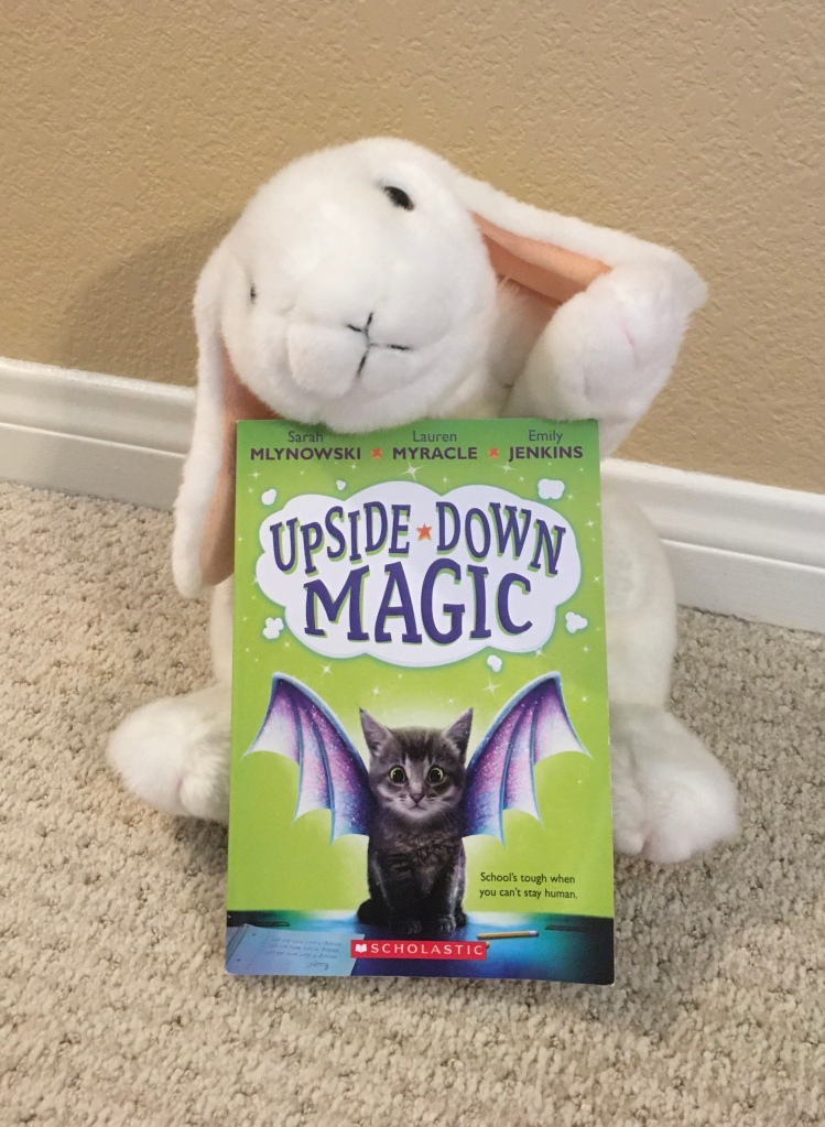 Marshmallow ranks Upside-Down Magic by Sarah Mlynowski, Lauren Myracle, and Emily Jenkins 90%.