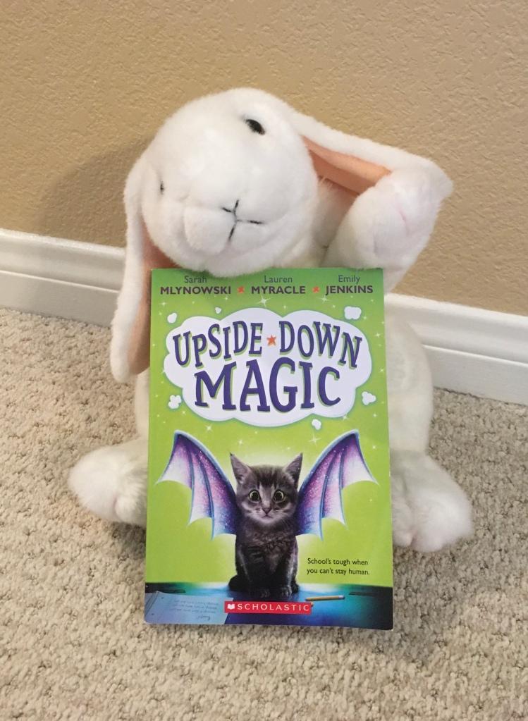 Marshmallow ranks Upside-Down Magic by Sarah Mlynowski, Lauren Myracle, and Emily Jenkins 90%.