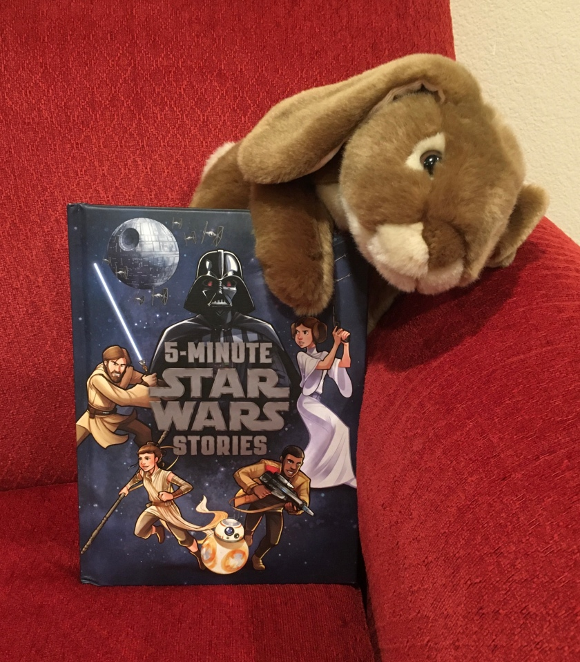 Caramel reviews 5-Minute Star Wars Stories by LucasFilm Press.