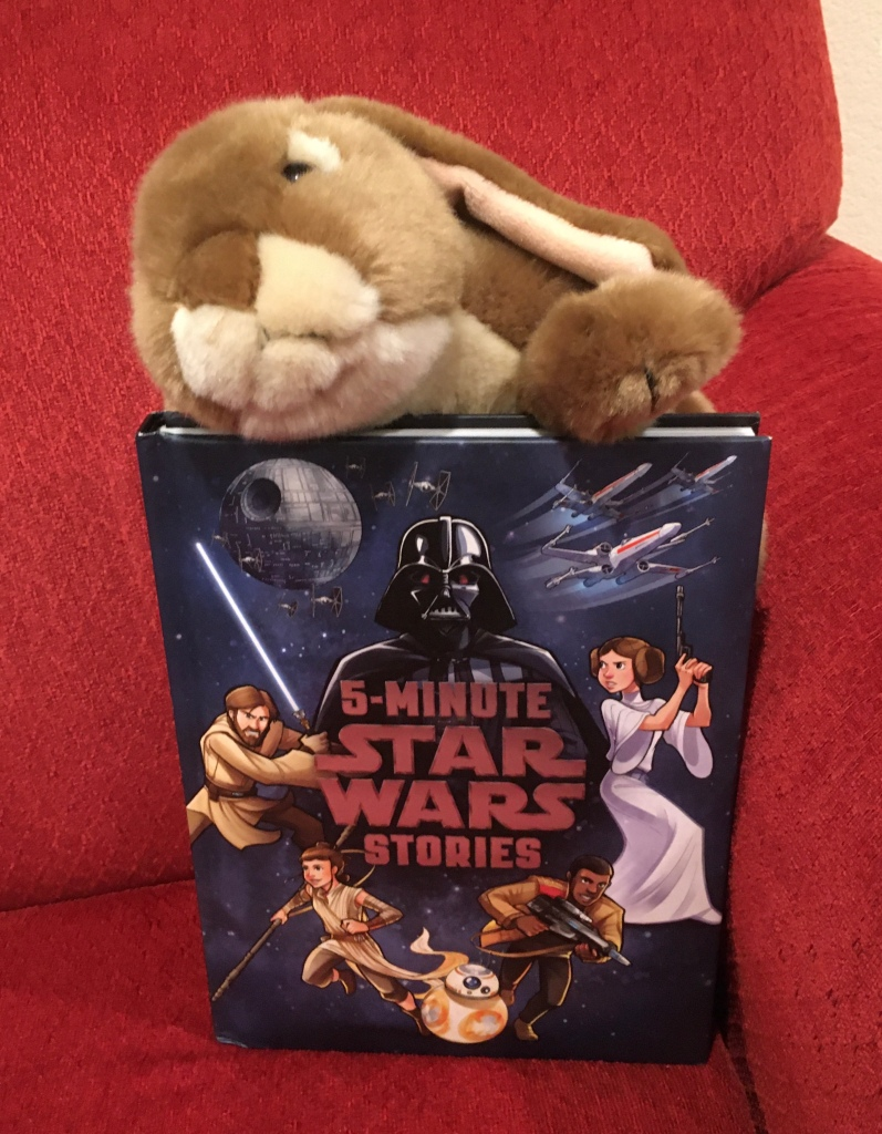 Caramel loved 5-Minute Star Wars Stories by LucasFilm Press and wants to say: May the Force be with you!
