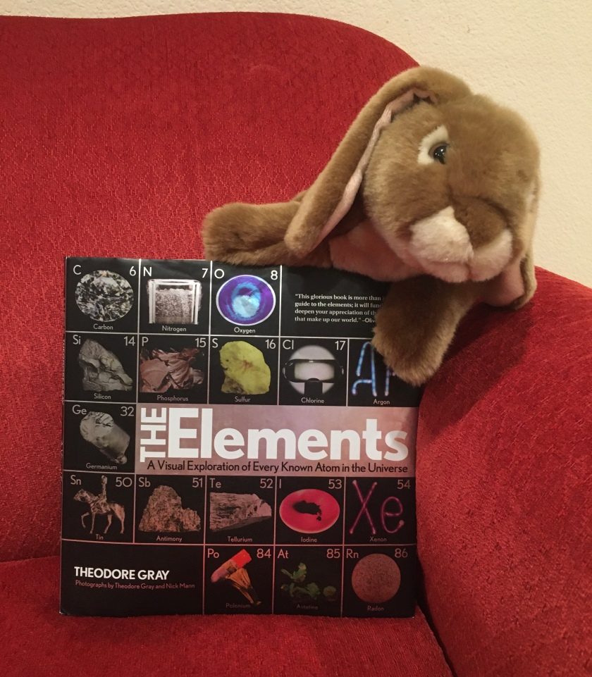 Caramel reviews The Elements: A Visual Exploration of Every Known Atom in the Universe by Theodore Gray.