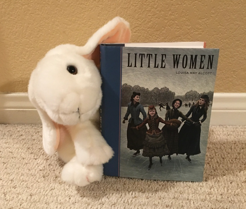 Marshmallow reviews Little Women by Louisa May Alcott.