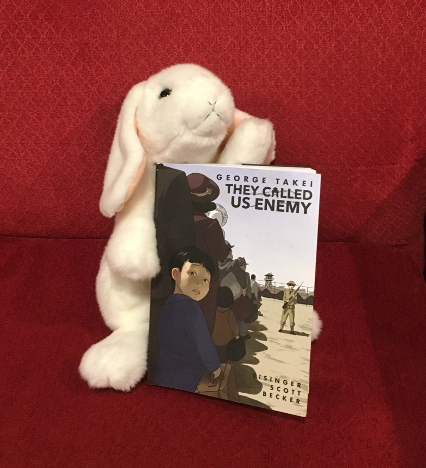Marshmallow rates They Called Us Enemy, by George Takei, written together with Justin Eisinger and Steven Scott, and illustrated by Harmony Becker, 100%.