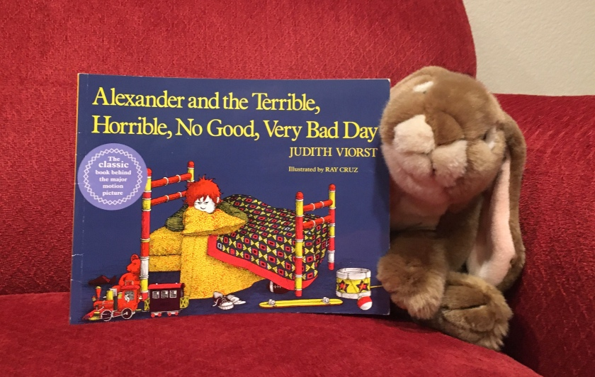 Caramel reviews Alexander and the Terrible, Horrible, No Good, Very Bad Day, written by Judith Viorst and illustrated by Ray Cruz.