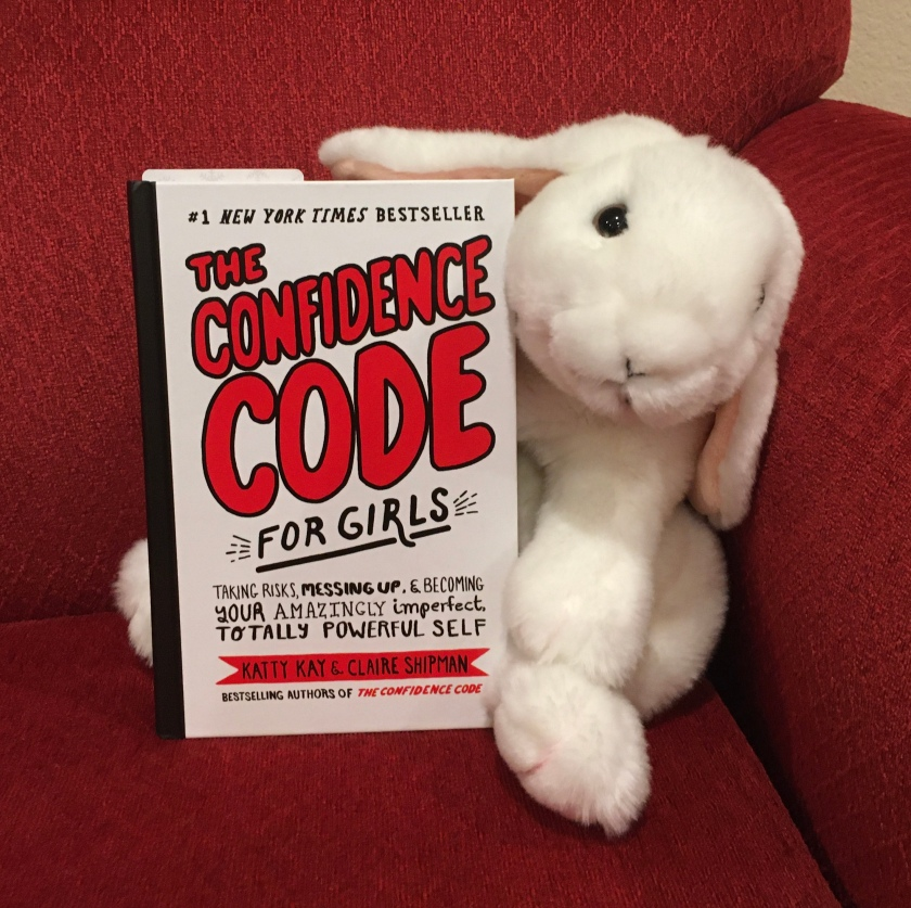 Marshmallow reviews The Confidence Code for Girls by Katty Kay and Claire Shipman.