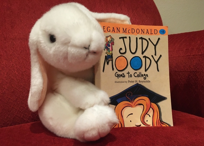 Marshmallow rated Judy Moody Goes to College by Megan McDonald 95%.