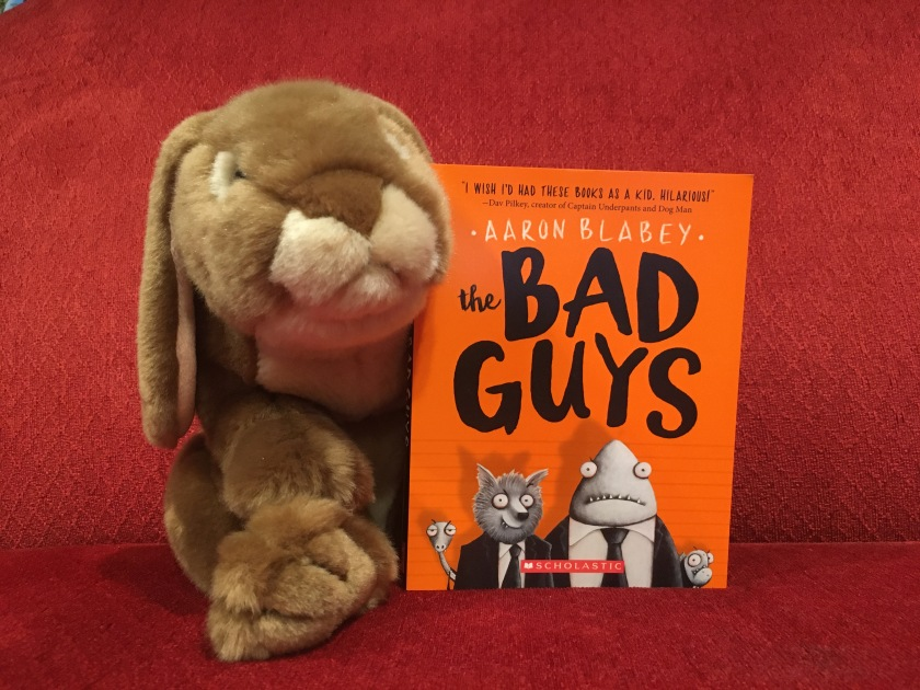 Caramel reviews Bad Guys by Aaron Blabey.