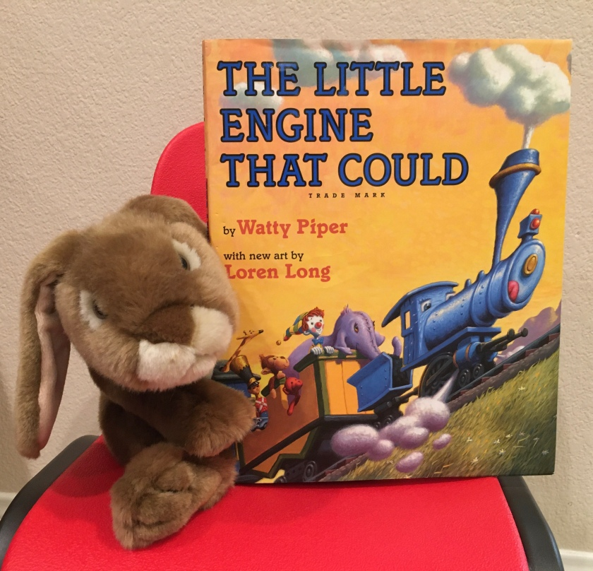 Caramel reviews The Little Engine That Could, by Watty Piper, with new art by Loren Long.