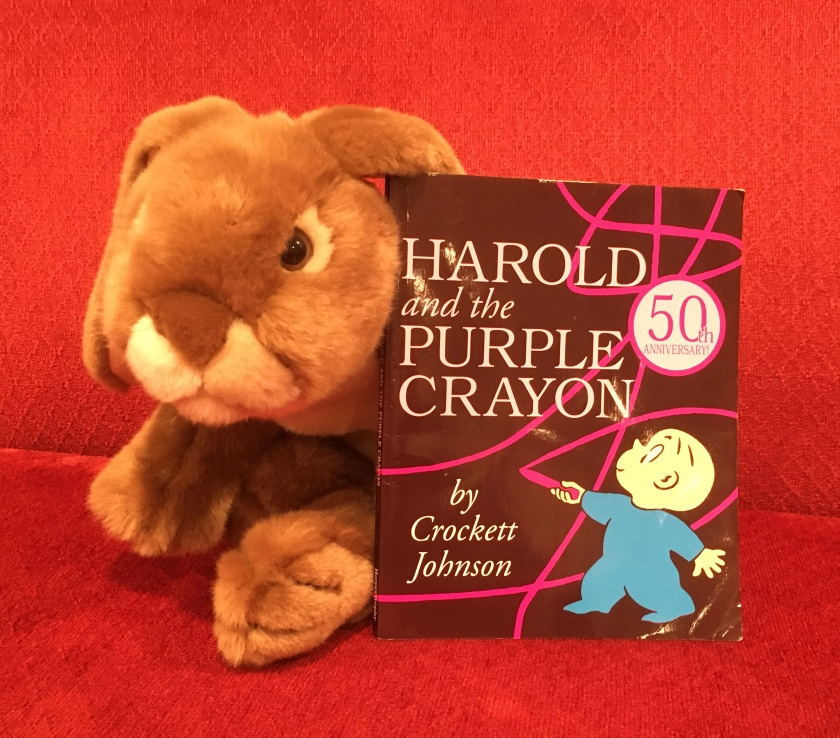 Caramel reviews Harold and the Purple Crayon by Crockett Johnson.