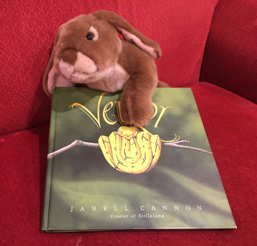 Caramel really enjoyed reading Verdi by by Janell Cannon.