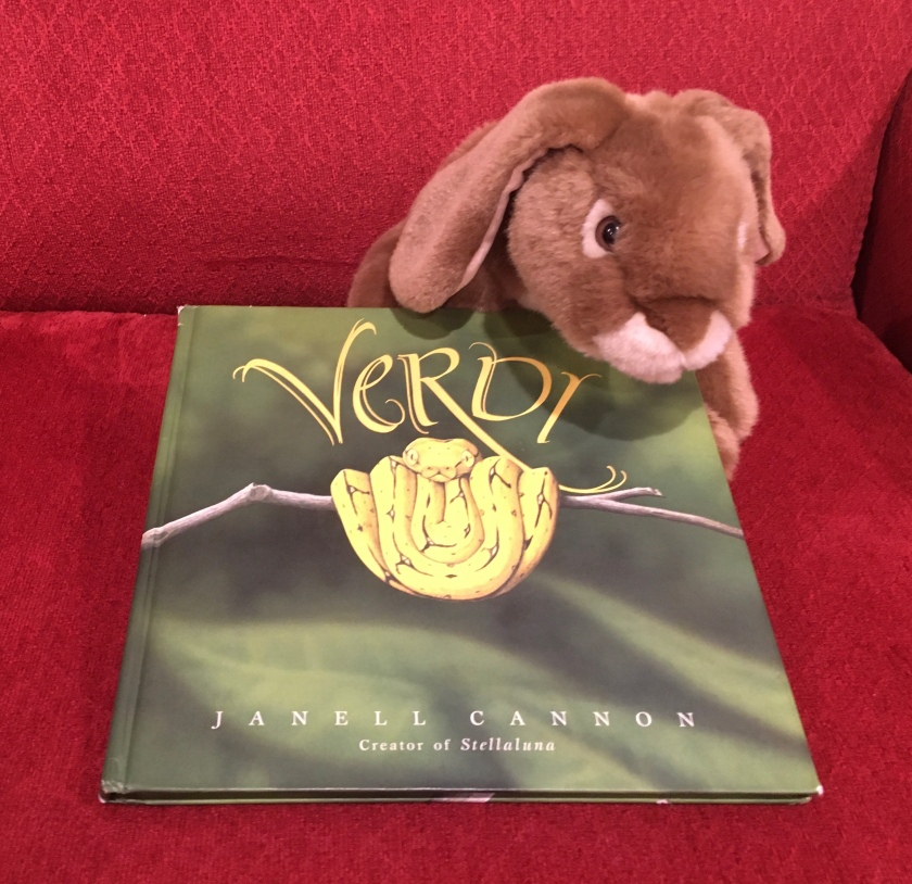 Caramel reviews Verdi by by Janell Cannon.
