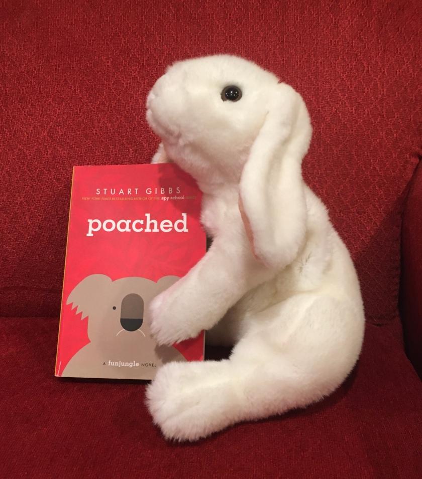 Marshmallow rates Poached by Stuart Gibbs 100%.