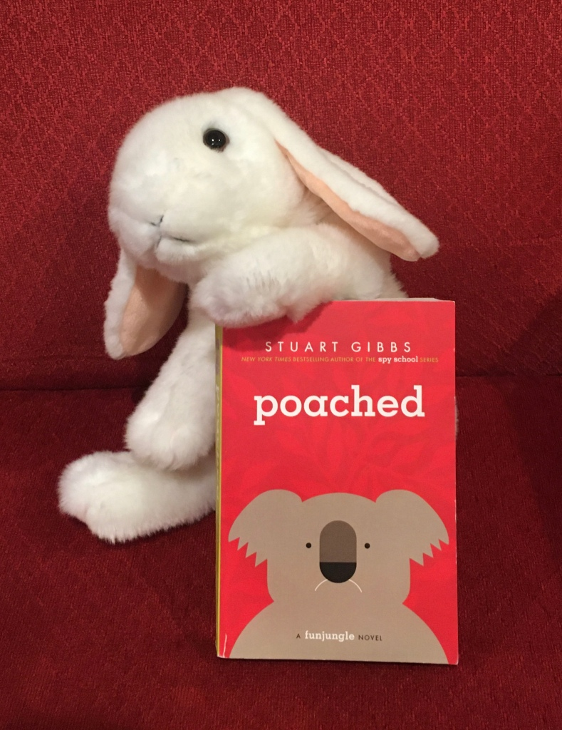 Marshmallow reviews Poached by Stuart Gibbs.